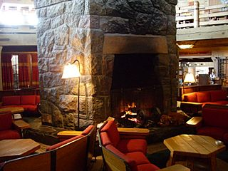 Timberline lodge main lobby level2