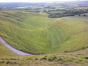 Uffington White Horse - The Manger