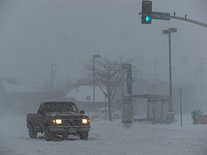 Blizzard in Kansas City