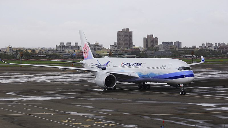 China Airlines, Airbus A350-941, B-18901 (29561382544)