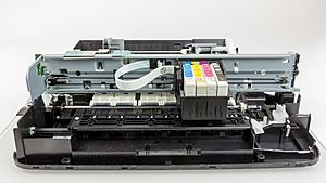 Epson Stylus S22 - case removed, front view-4511