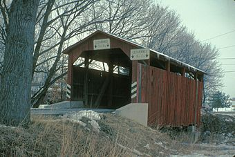 FOWLERSVILLE COVERED BRIDGE, COLUMBIA CO. PENNSYLVANIA.jpg