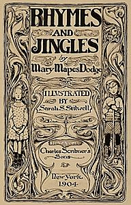 Sarah Stilwell Weber, Rhymes and Jingles book cover, 1904