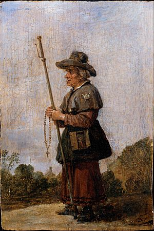 Teniers, David the younger - Female Pilgrim - Google Art Project