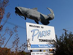 Catfish welcome to paris tennessee 11-09-2007