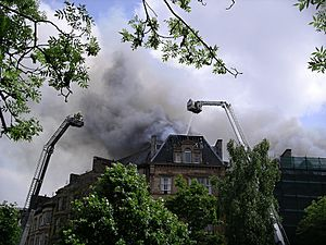 Maclay Hall Fire, June 2006