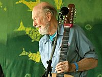 Pete Seeger2 - 6-16-07 Photo by Anthony Pepitone