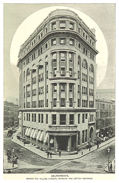 (King1893NYC) pg245 DELMONICOS, BEAVER AND WILLIAMS STREETS