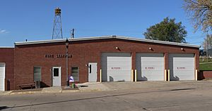 Beemer, Nebraska fire station