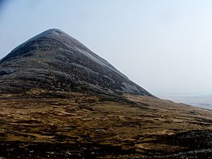 Beinn Shiantaidh from the south