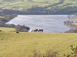 Combs Reservoir from Whitehills by Dave Dunford