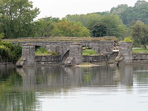 Erie Canal Aqueduct Schoharie Crossing State Historical Site, Fort Hunter NY 2774 (4029213681)