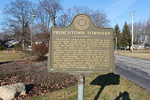 Frenchtown Township Michigan Historical Marker