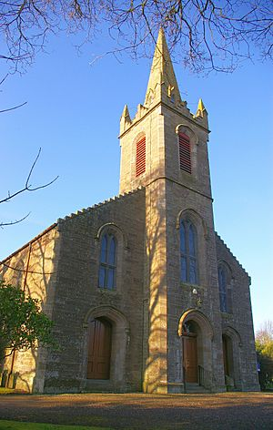 Liff Church, Angus, from south-east