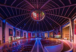 Liverpool Metropolitan Cathedral Interior, Liverpool, UK - Diliff