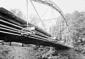 Whipple Cast - Wrought Iron Bowstring Truss Bridge