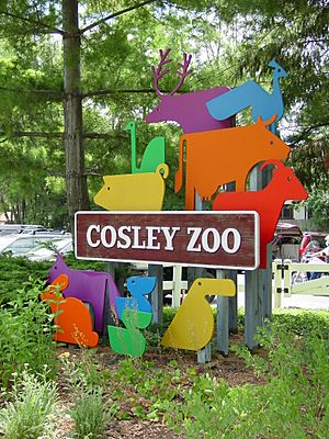Cosley Zoo sign