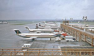 Gatwick Airport, 1970a geograph-3212288-by-Ben-Brooksbank