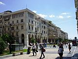 Thessaloniki - The street in Downtown