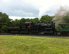 Western Maryland Shay 6 on Cass Scenic Railroad