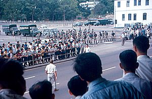 1967 Hong Kong riots-Communists and Police