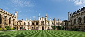 Corpus Christi College New Court, Cambridge, UK - Diliff