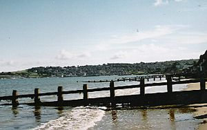 Groynes, Swanage Bay - geograph.org.uk - 49755