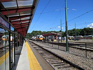 Mattapan platforms and yard