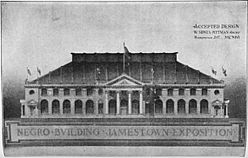 Negro Building Jamestown Exposition