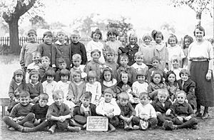 Plains Road School East York 1920