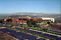 View of the Reagan Library from the south
