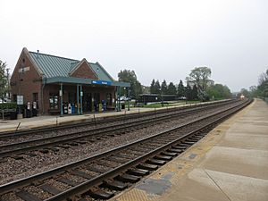 Winfield IL Train Station