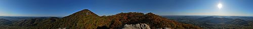 Buzzards roost pano
