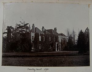 Dawley Court, Goulds Green, Middlesex in 1893