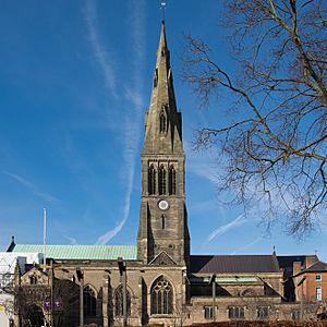 Leicester Cathedral south facade.jpg