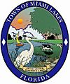 Official seal of Town of Miami Lakes