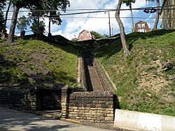 The Parkway Steps, built in 1936.