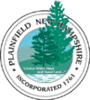 Official seal of Plainfield, New Hampshire