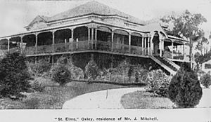 StateLibQld 2 162927 James Mitchell's residence in Oxley, Brisbane, 1906