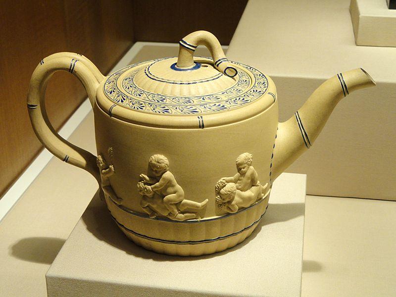Teapot, Wedgwood, c. 1780-1785 - Nelson-Atkins Museum of Art - DSC08780