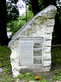 Tuckahoe quarry ny monument 2009
