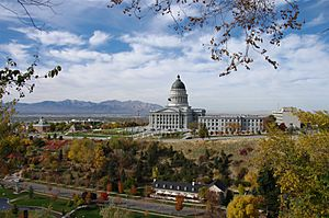 Utah's Capitol Hill in 2010