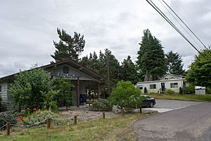 The post office in Westlake, Oregon