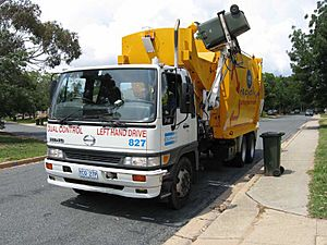 ACT recycling truck