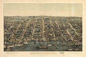 Alexandria Bird's Eye View 1863