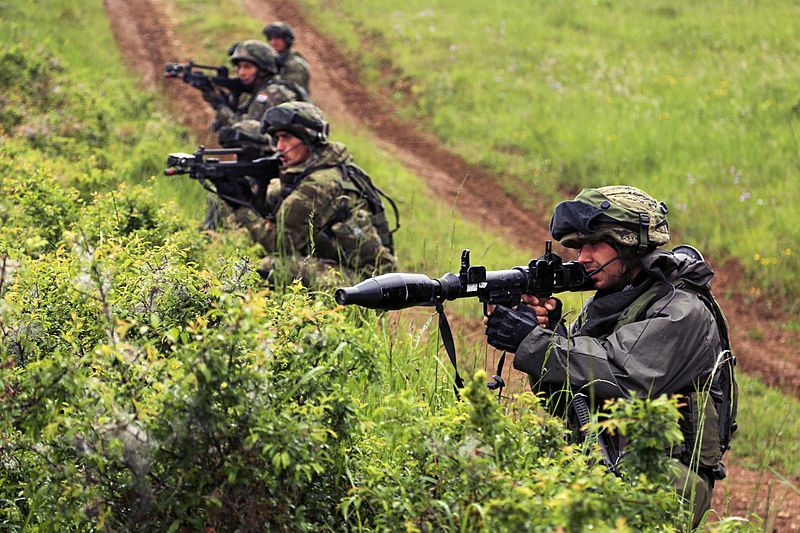 Hires 150530-A-AO034-002A Croatian soldiers during exercise Combined Resolve IV in May 2015