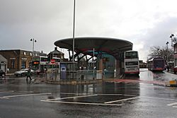 Pudsey Bus Station - geograph.org.uk - 2723776