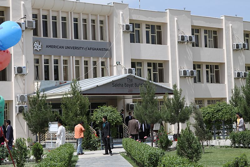 Saleha Bayat Building at AUAF in Kabul-2