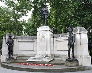 The Rifle Brigade Memorial, Grosvenor Gardens, Westminster