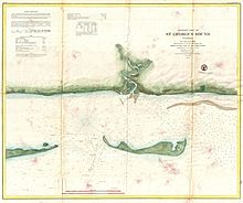 1859 U.S. Coast Survey Map of St. George Sound, Florida Panhandle - Geographicus - StGeorgesSound-uscs-1859